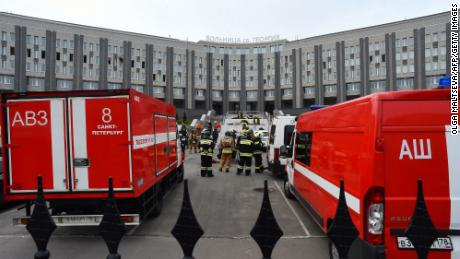 Reports of fire in respirators in the intensive care unit of St.George's Hospital in Saint Petersburg in May added to doubts about how the Kremlin would handle the epidemic.