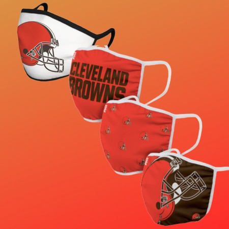 Promo Browns Affiliate Mask 2020