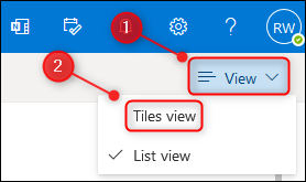 """The """"Opinion"""" Menu and """"Tile width"""" Selection."""