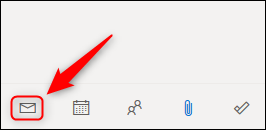 """The """"Mail"""" icon."""