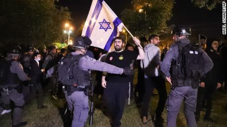 Poliția de frontieră israeliană blochează elemente