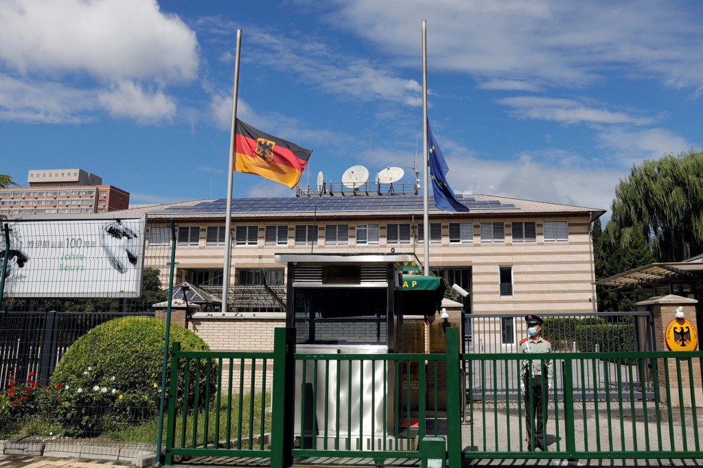 Ambasada Germaniei în China.