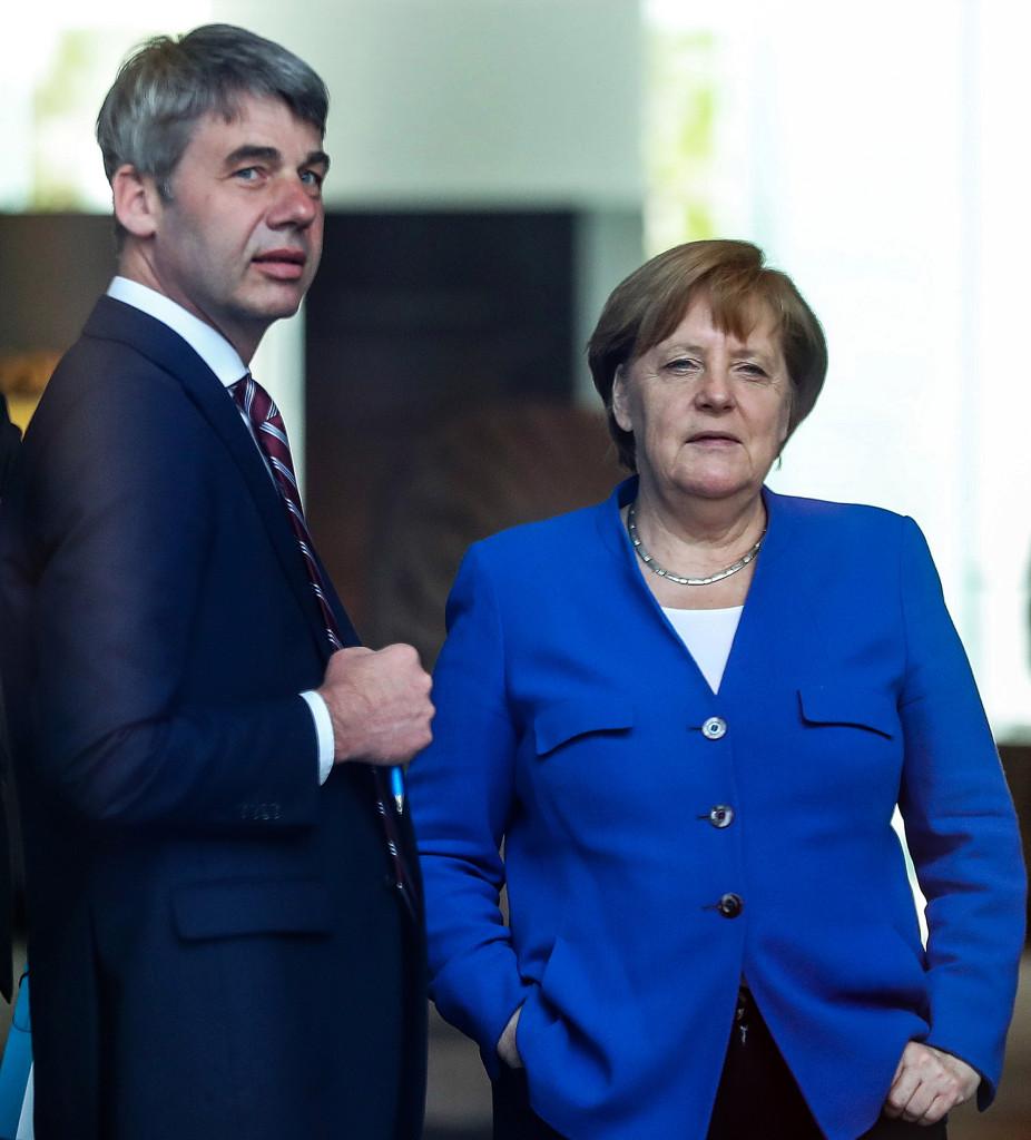 Jan Hecker Angela Merkel.